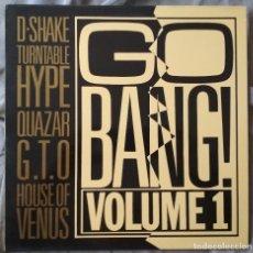 Discos de vinilo: VARIOS ARTISTAS - GO BANG! VOLUME 1. LP EDICIÓN ESPAÑOLA 1990. Lote 132992054