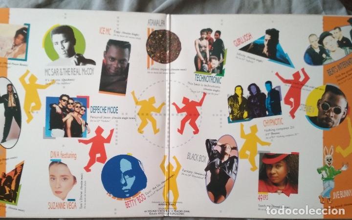 Discos de vinilo: VARIOS ARTISTAS - LO MAS DISCO. Doble LP edición española 1990 - Foto 2 - 132993186