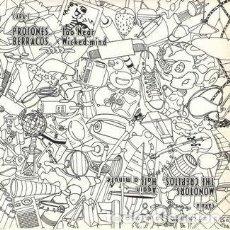 Discos de vinilo: PROTONES / BERRACOS / MONOTORS / THE CREPITOS (EP ROCK INDIANA, 1995). Lote 132993474