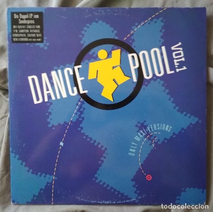 VARIOS ARTISTAS - DANCE POOL VOL.1. DOBLE LP EDICIÓN ESPAÑOLA 1990 (Música - Discos - LP Vinilo - Disco y Dance)
