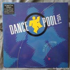 Discos de vinilo: VARIOS ARTISTAS - DANCE POOL VOL.1. DOBLE LP EDICIÓN ESPAÑOLA 1990. Lote 132994278