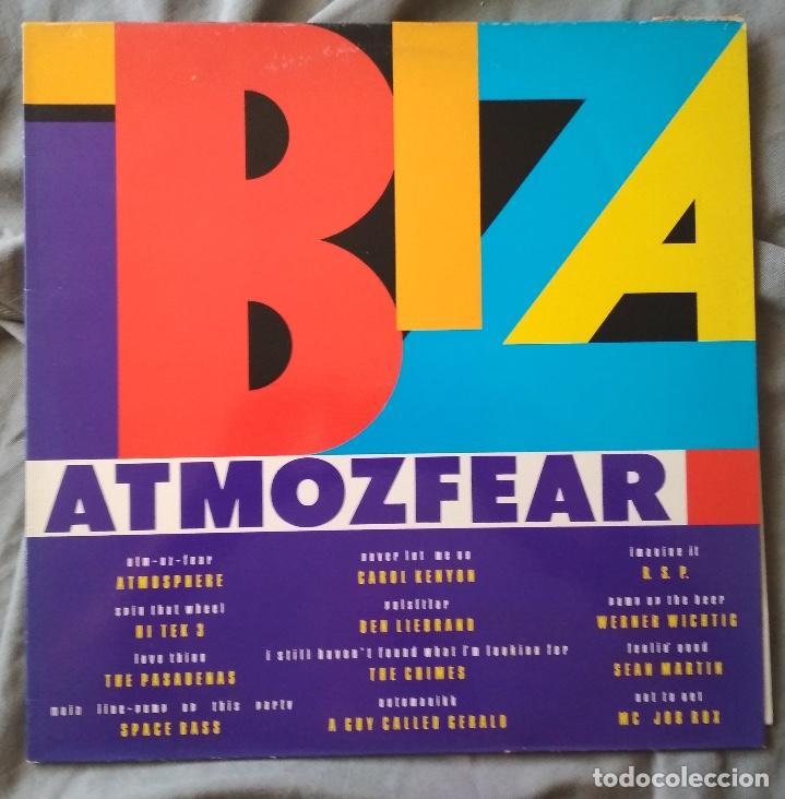 VARIOS ARTISTAS - IBIZA ATMOZFEAR. LP EDICIÓN ESPAÑOLA 1990 (Música - Discos - LP Vinilo - Disco y Dance)