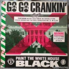 Discos de vinilo: VARIOS ARTISTAS - GO GO CRANKIN'. LP EDICIÓN FRANCESA 1985. Lote 132995826