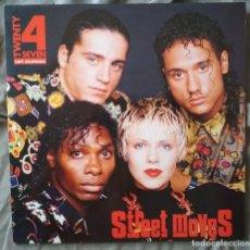 Discos de vinilo: TWENTY 4 SEVEN - STREET MOVES. LP EDICIÓN ESPAÑOLA 1992. Lote 132996658