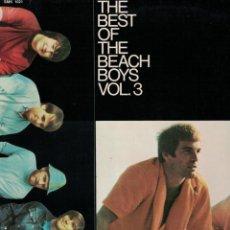 Discos de vinilo: LP - THE BEACH BOYS - THE BEST OF VOL. 3 (GERMANY, CAPITOL RECORDS SIN FECHA). Lote 132998714