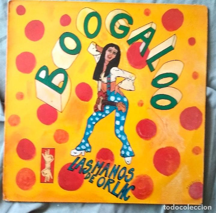 LAS MANOS DE ORLAC - BOOGALOO. MAXI-SINGLE 1990 (Música - Discos de Vinilo - Maxi Singles - Grupos Españoles de los 90 a la actualidad)