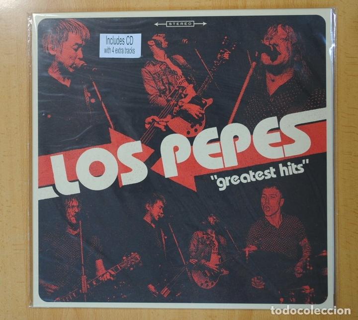 LOS PEPES - GREATEST HITS - LP / CD (Música - Discos - LP Vinilo - Pop - Rock Extranjero de los 90 a la actualidad)