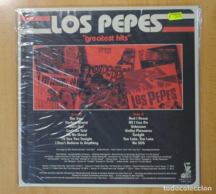 Discos de vinilo: LOS PEPES - GREATEST HITS - LP / CD - Foto 2 - 133000858