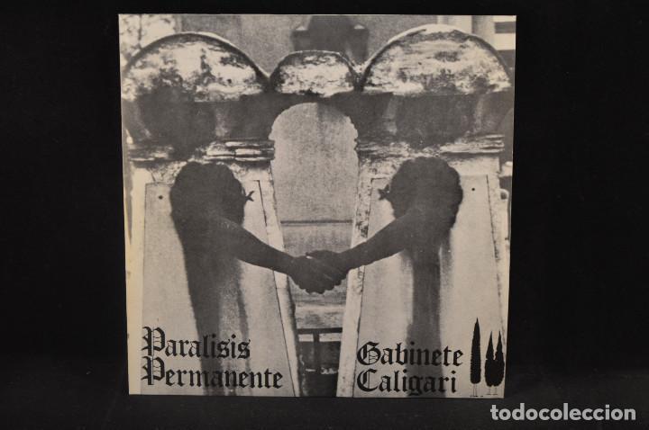 PARALISIS PERMANENTE / GABINETE CALIGARI - AUTOSUFICIENCIA +3 - EP (Música - Discos de Vinilo - EPs - Grupos Españoles de los 70 y 80)