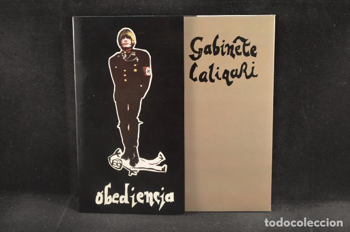 GABINETE CALIGARI - OBEDIENCIA - EP (Música - Discos de Vinilo - EPs - Grupos Españoles de los 70 y 80)