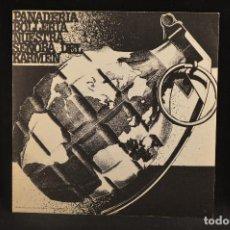 Discos de vinilo: TDK / PANADERIA BOLLERIA NUESTRA SEÑORA DEL KARMEN – EP . Lote 133002570