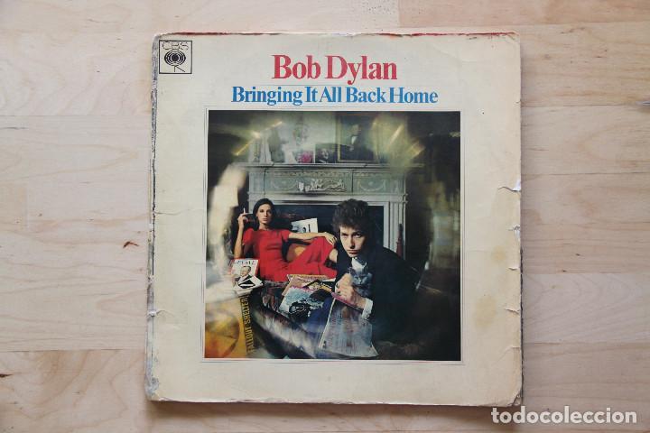 LP BOB DYLAN 1960S BRINGING IT ALL BACK HOME EDICION FRANCESA (Música - Discos - LP Vinilo - Cantautores Internacionales)