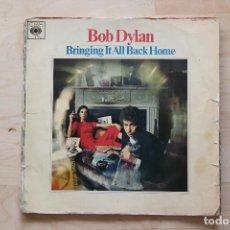 Discos de vinilo: LP BOB DYLAN 1960S BRINGING IT ALL BACK HOME EDICION FRANCESA. Lote 133006078