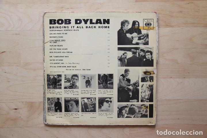 Discos de vinilo: LP BOB DYLAN 1960s BRINGING IT ALL BACK HOME EDICION FRANCESA - Foto 4 - 133006078