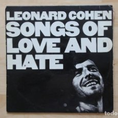 Discos de vinilo: LP LEONARD COHEN 1960S SONGS OF LOVE AND HATE. Lote 133006246