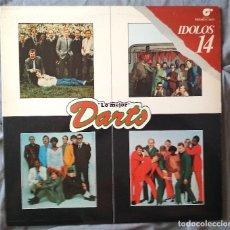 Discos de vinilo: DARTS - LO MEJOE DE DARTS. LP EDICIÓN ESPAÑOLA 1980. PROMOCIONAL. Lote 133010766
