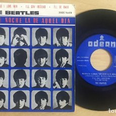 Disques de vinyle: THE BEATLES EP TELL ME WHY ODEON 16618. Lote 133012734