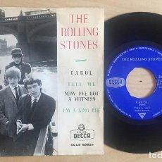 Discos de vinilo: THE ROLLING STONES EP CAROL DECCA 1964. Lote 133012874