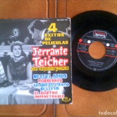 Discos de vinilo: DISCO 4 EXITOS DE PELICULA. Lote 133015218