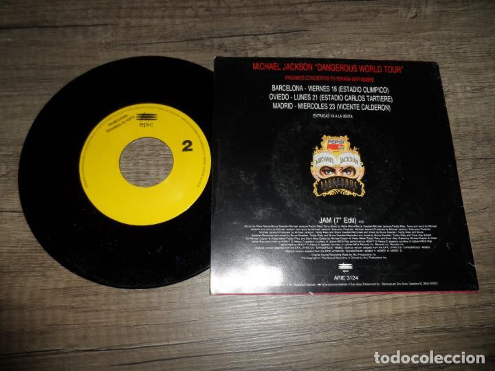 Discos de vinilo: MICHAEL JACKSON - JAM (PROMOCIONAL) - Foto 2 - 133015862