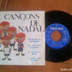 Discos de vinilo: DISCO CANCONS DE NADAL AÑO 1964. Lote 133016950