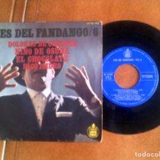 Discos de vinilo: DISCO ASES DEL FANDANGO VOL ,6. Lote 133017358