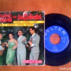 Discos de vinilo: DISCO LUISA LINARES CON LOS GALINDOS . Lote 133018150