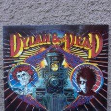Discos de vinilo: DYLAN Y THE DEAD-ORIGINAL ESPAÑOL 1989-ESTADO EXCELENTE. Lote 133030334