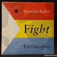 Discos de vinilo: SPANDAU BALLET - FIGHT FOR OURSELVES - SINGLE - PROMOCIONAL - UNA SOLA CARA - ONE SIDED - ESPAÑA. Lote 133030482
