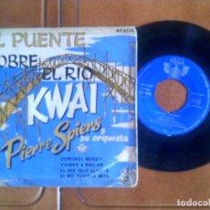 Discos de vinilo: DISCO EL PUENTE SOBRE EL RIO KWAI , PIERRE SPIERS Y SU ORQUESTA. Lote 133031138