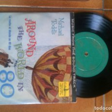 Discos de vinilo: DISCO DE LA PELICULA LA VUELTA AL MUNDO EN 80 DIAS MUSICA DE VICTOR YOUNG. Lote 133031498