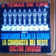 Discos de vinilo: DISCO 6 TEMAS DE CINE. Lote 133031674