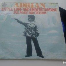 Discos de vinilo: SINGLE (VINILO) DE ADRIAN AÑOS 70. Lote 133040214