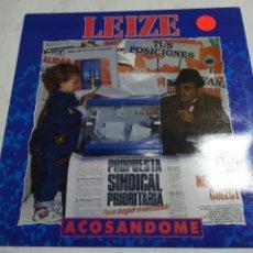 Discos de vinilo: LEIZE ACOSANDOME. LP DISCO VINILO. 1991. BARRABÁS. Lote 133045534