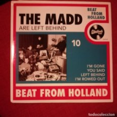 Discos de vinilo: THE MADD ARE LEFT BEHIND . Lote 133054070