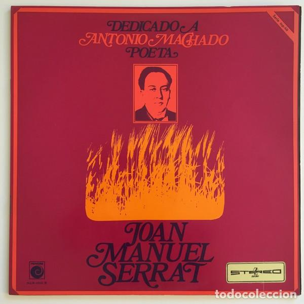 JOAN MANUEL SERRAT – DEDICADO A ANTONIO MACHADO, POETA (ESPAÑA, 1969) (Música - Discos - LP Vinilo - Cantautores Españoles)