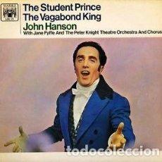 Discos de vinilo: JOHN HANSON, JANE FYFFE, THE PETER KNIGHT THEATRE ORCHESTRA & CHORUS ?– THE SUDENT PRINCE / THE VAGA. Lote 133066082