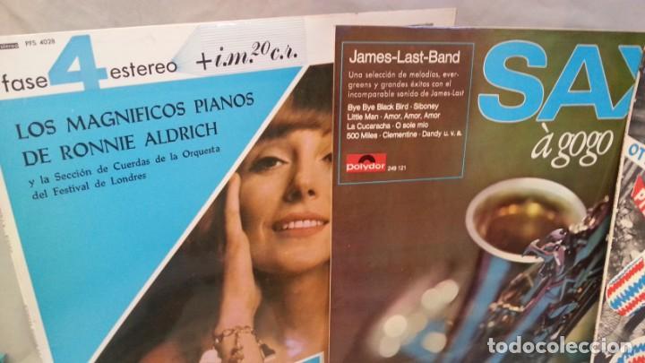 Discos de vinilo: Discos LPs música pop. Colección de 6 discos en perfecto estado. - Foto 2 - 133088314