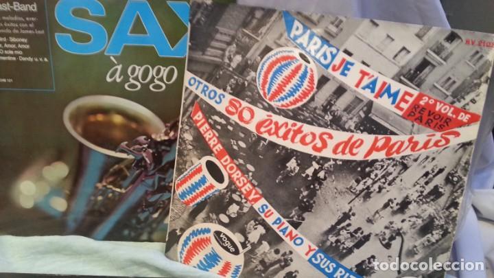 Discos de vinilo: Discos LPs música pop. Colección de 6 discos en perfecto estado. - Foto 3 - 133088314