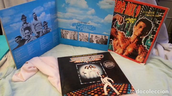 DISCOS LPS MÚSICA DISCO. COLECCIÓN DE 6 DISCOS EN PERFECTO ESTADO. 3 DOBLES LPS. (Música - Discos - LP Vinilo - Disco y Dance)