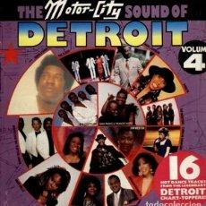 Discos de vinilo: VARIOUS - THE MOTOR -CITY SOUND OF DETROIT VOLUME 4 - EDWIN STARR + KIM WESTON + MARY WELLS + THE. Lote 133106609