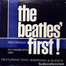 Discos de vinilo: BEATLES - THE BEATLES FIRST - 1988 SPANISH EDITION - LP. Lote 133106859
