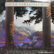 Discos de vinilo: VARIOUS? - THE SOUTH'S GREATEST HITS - SPANISH EDITION - ALLMAN BROTHERS + CHARLIE DANIELS BAND + E. Lote 133110055