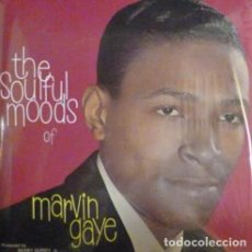 Discos de vinilo: MARVIN GAYE - THE SOULFUL MOODS OF MARVIN GAYE - 2013 RUMBLE RECORDS REISSUE - LP. Lote 133112669
