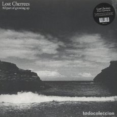 Discos de vinilo: LOST CHERRIES - ALL PART OF GROWING UP - 2015 BEAT GENERATION RECORDS 180 GRAM VINYL REISSUE - LP. Lote 133119883