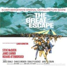 Discos de vinilo: ELMER BERNSTEIN - THE GREAT ESCAPE - 2XLP - LP. Lote 158412364