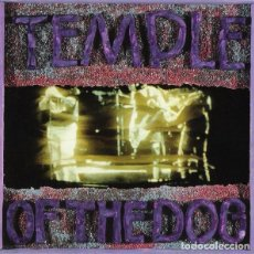 Discos de vinilo: TEMPLE OF THE DOG - TEMPLE OF THE DOG - MARBLED BLUE VINYL - REISSUE - LP. Lote 133120643