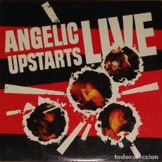 Discos de vinilo: ANGELIC UPSTARTS - LIVE - LP. Lote 133121481