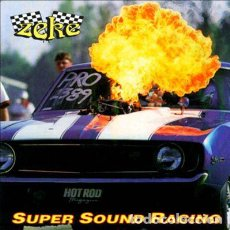 Discos de vinilo: ZEKE - SUPER SOUND RACING - RUSSIAN REISSUE - LP. Lote 153365772