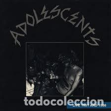 ADOLESCENTS - LIVE 1981 AND 1986 - WITH INSERT - LP (Música - Discos - LP Vinilo - Rock & Roll)